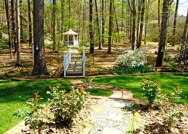 Gazebo in the Spring