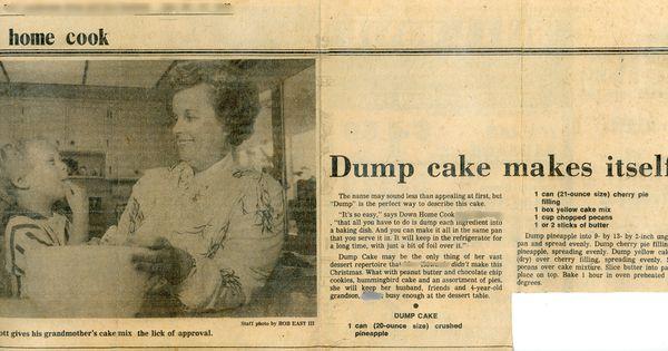 Dump Cake edit e-amil