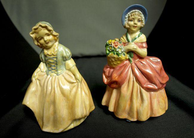 Pair Pretty Little Girls