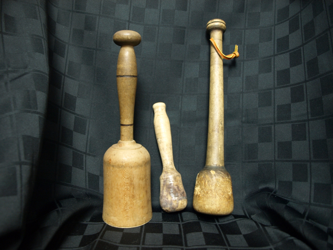 Wood Tenderizer  Masher and Pestle