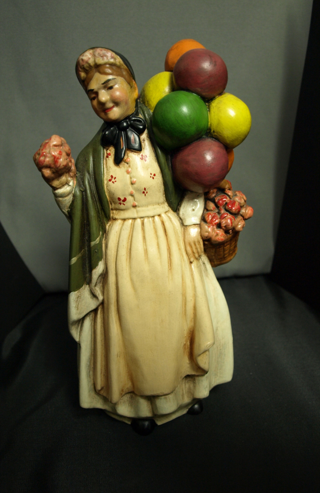 Balloon Lady Figurine